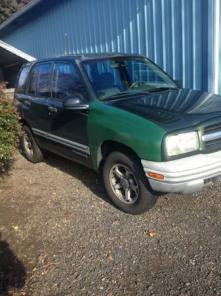1999 Chevy Tracker - 4dr 4x4 - low miles